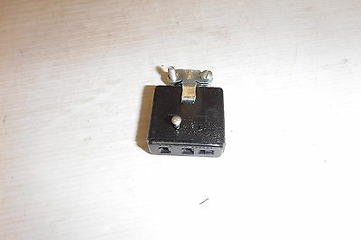 Cinch-Jones S303Cct 10 Amp Cable Clamp To Cap   3 Pin Female Connector Nnb
