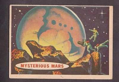 "Card from ""Space Cards"" issued by A&BC in 1958 no.72 Mysterious Mars"