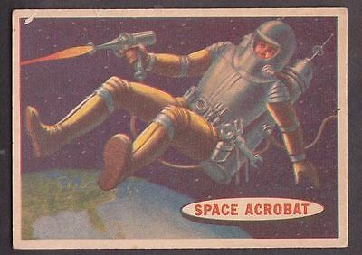 "Card from ""Space Cards"" issued by A&BC in 1958 no.25 Space Acrobat"