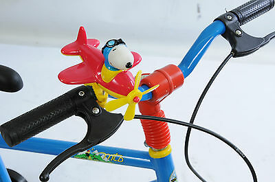Snoopy Bicycle Bike Handlebar Aeroplane Toy Great Present Big Discount Red