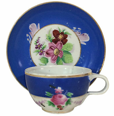 19th Century Alexander Gardner Imperial Russian Porcelain Cup & Saucer #3