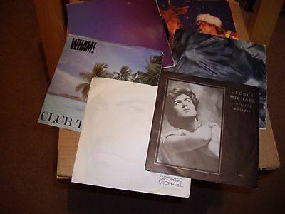 George Michael/wham.6.records.45Rpm.careless Whisper/father Figure/i Want You Se