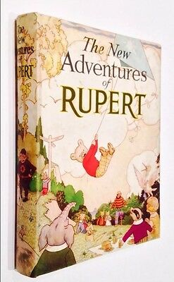 The New Adventures Of Rupert - 1936 - Daily Express Number 1 Annual