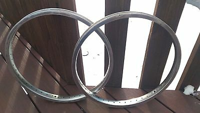 "peregrine 48 rims hp double wall old school BMX silver 20"" freestyle BMX"