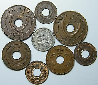 WCA East Africa Coins 1924 - 1959 Lot # S16
