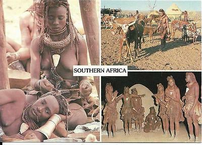 Southern Africa -  Multi View Ethnic - Himba Tribe - Postcard