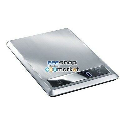 SEVERIN KW 3669 - kitchen scales - brushed stainless / black KW3669