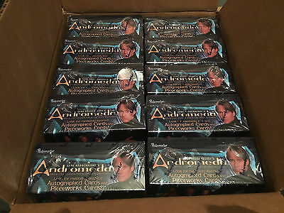 GENE RODDENBERRY'S ANDROMEDA Sealed Boxes Case Rare Collectible! 10 Sealed Box