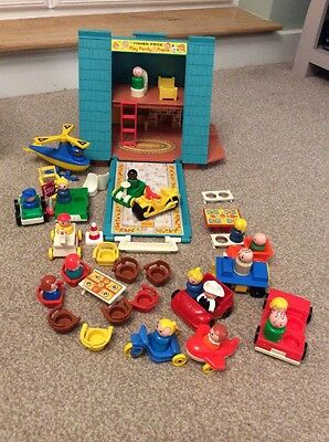 Fisher Price A Frame Playhouse Vintage