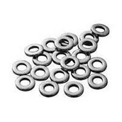 Stainless Steel Flat Washer, #10 x 7/16 OD Qty-100