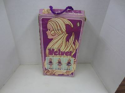 Vintage 1970 Ideal CRISSY'S COUSIN VELVET w/Box & Outfit crissy family
