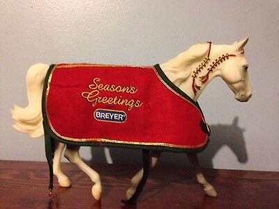 "Breyer Traditional ""Holiday Horse"" Missouri Fox Trotter Model Great Condition"