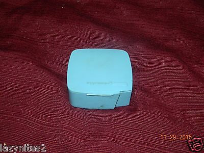 Vintage Tupperware Light Blue Label Dispenser