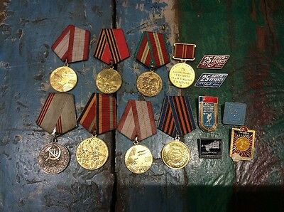Collection Of Russian Medals