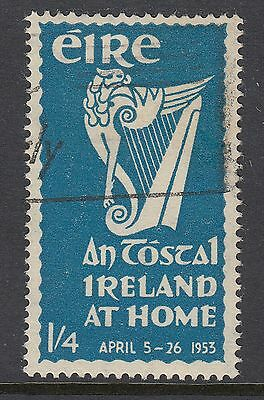 """IRELAND 1953 1/4d """"AN TOSTAL"""" FESTIVAL, USED, Catalogued £28"""
