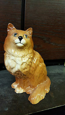 BESWICK large Ginger Persian CAT Excellent Condition FREE P&P