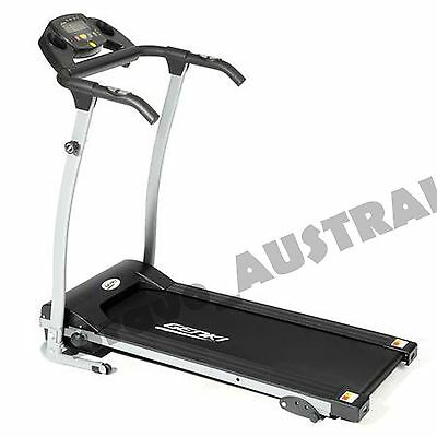 Motorised Treadmill Compact Fold Up Home Gym Fitness Training HIIT Walker NEW