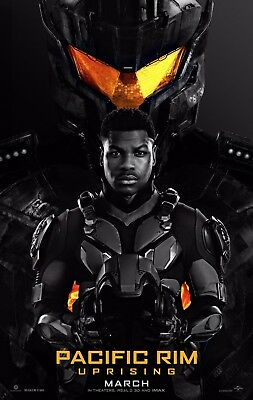 PACIFIC RIM UPRISING 2018 Advance Teaser DS 2 Sided 27x40 Set of 2 Movie Posters