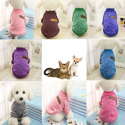 Pet Coat Dog Jacket Winter Clothes Puppy Cat Sweater Clothing Coat Apparel #4