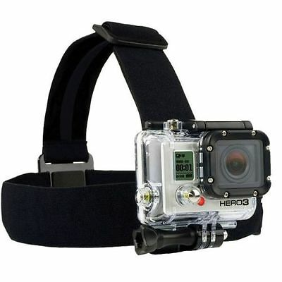 Head Strap Mount Belt Elastic Headband For GoPro HD Hero 1/2/3/4/5 Session TU