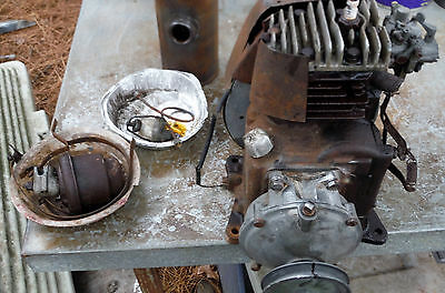 Antique Clinton model EB? Motor with  6 to 1 Gear Reduction Box and More!