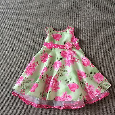 Target Girls Party Dress Size 2, circular skirt with tulle