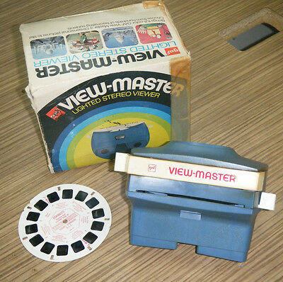 Vintage Boxed Gaf View-Master Lighted Stereo Viewer