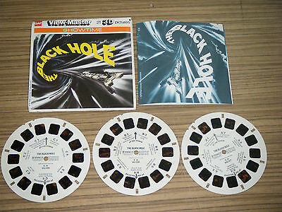Vintage GAF View-Master Stereo Picture Reels - The Black Hole