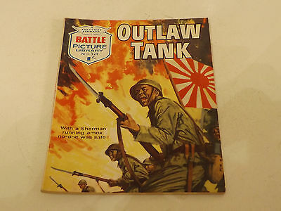BATTLE PICTURE LIBRARY NO 324,dated 1967!,V GOOD FOR AGE,VERY RARE,50 yrs old.