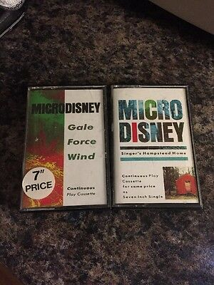 Microdisney - 2 Very Rare Cassette Singles In Great Condition