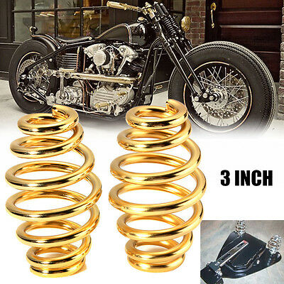 3'' Steel Solo Seat Spring para Harley Custom Motorcycle Chopper Bobber Softail