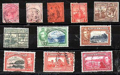 Stamps From Trinidad And Tobago 1883.