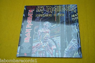 Iron Maiden - Somewhere In Time PICTURE DISC gatefold SEALED  lp Ç