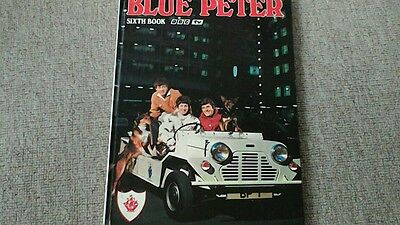 Blue Peter 6th Book 1969 Annual Unclipped BBC Publications , good condition.