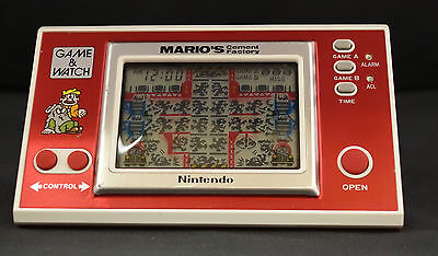 (Wi1) Nintendo Game And Watch Mario's Cement Factory