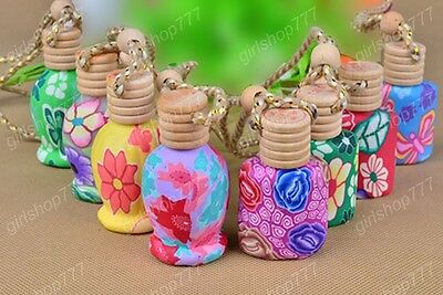 Car Home Perfume Pod Air Freshener Hand Crafted Hanging Bottle Gadget Decor 1pcs