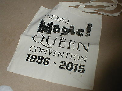 Queen Magic 30Th Convention Fanclub Limited Edition  Canvas Bag