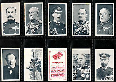"Wills 1915 Interesting ( Military ) Full 50 Card Set "" Britain's Defenders """