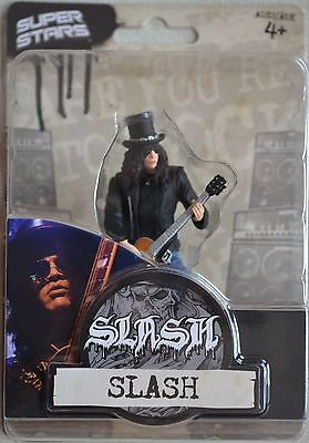 Slash: Guns N Roses Velvet Revolver Figure Super Stars [New In Pack]