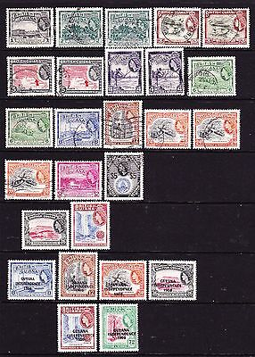 Br. Guiana. 1954 Used Part Set To $5. Cat' £70.