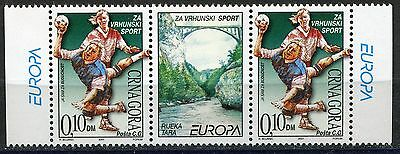 002 MONTENEGRO 2001 - Local - SPORT - MNH Middle Row