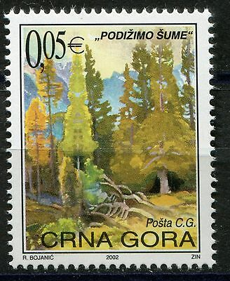 016 MONTENEGRO 2002 - Forest Protective - MNH Set