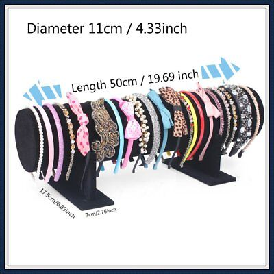 Long 50cm Hair Band Headband Holder Retail Store Accessory Display Stand Rack