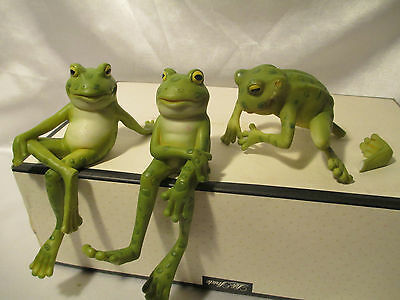 Encore Group Frog Figurines Set of Three