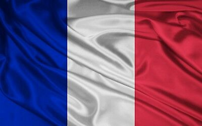 5ft x 3ft LARGE POLY FRANCE FRENCH NATIONAL FLAG ALL WEATHER EYELET BASTILLE DAY