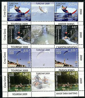 103a MONTENEGRO 2009 - Tourism - Rafting - MNH Middle Row