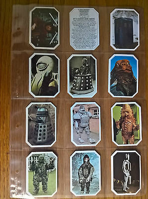 Typhoo tea cards: Amazing World of Doctor Who full set genuine original 1976 Dr