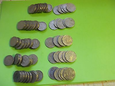 Small Job Lot Of 13  Indian Coins(8@5 Rupees+5@2 Rupees) Buy Now Bargain [#c417]