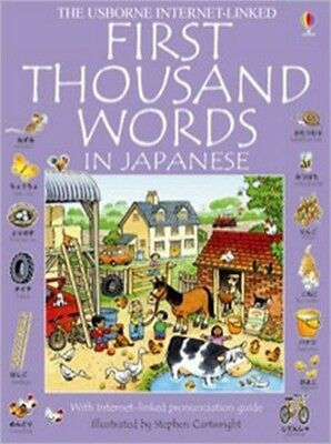 First 1000 Words: Japanese (First Thousand Words Mini) (Paperback. 9780746052495