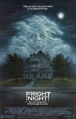 Fright Night movie poster - Chris Sarandon - 11 x 17 inches - Horror, Vampires